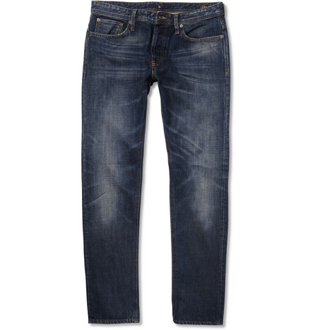 NN.07 James Slim-Fit Washed-Denim Jeans