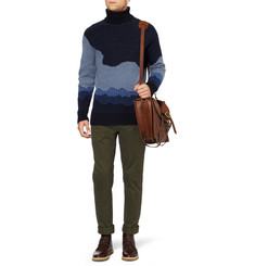 NN.07 Leivur Wool-Blend Rollneck Sweater