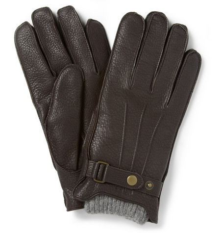 NN.07 Wool-Lined Leather Gloves