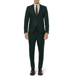 AMI Slim-Fit Wool Suit Trousers