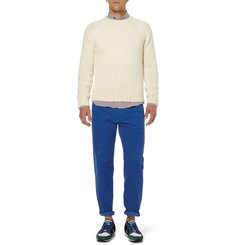 AMI Regular-Fit Corduroy Trousers