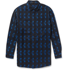 Alexander Wang Oversized Lightweight Printed Wool Shirt