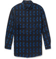 Alexander Wang - Oversized Lightweight Printed Wool Shirt