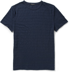 Alexander Wang Striped Slub Cotton-Jersey T-Shirt