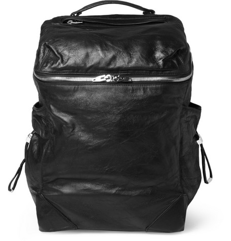 Alexander Wang Wallie Washed-Leather Backpack