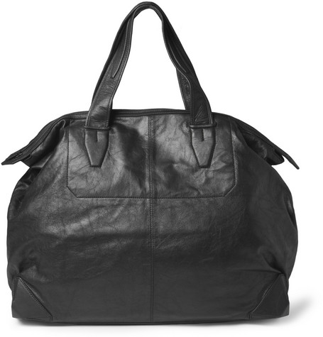 Alexander Wang Wallie Washed-Leather Weekend Bag