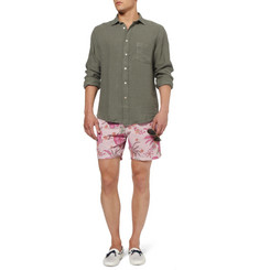 Hartford Printed Mid-Length Swim Shorts