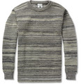 S.N.S. Herning - Fisherman Striped Waffle-Knit Wool Sweater