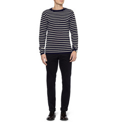 S.N.S. Herning Breton-Stripe Wool Sweater
