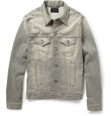 J Brand Owen Bleached Denim Jacket