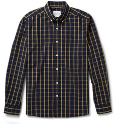 Saturdays Surf NYC Check Cotton Shirt