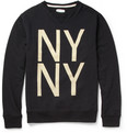 Saturdays NYC - Bowery Printed Cotton-Jersey Sweatshirt