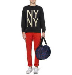 Saturdays Surf NYC Bowery Printed Cotton-Jersey Sweatshirt