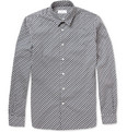 Hentsch Man Friday Slim-Fit Printed Cotton Shirt