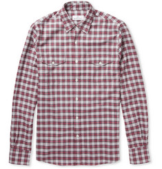 Hentsch Man Check Brushed-Cotton Shirt