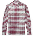 Hentsch Man - Check Brushed-Cotton Shirt