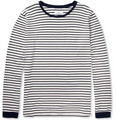 Hentsch Man - Striped Cotton-Jersey T-Shirt