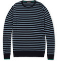 John Smedley Lewes Striped Merino Wool Sweater