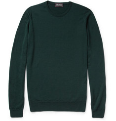 John Smedley Cleves Slim-Fit Merino Wool Sweater
