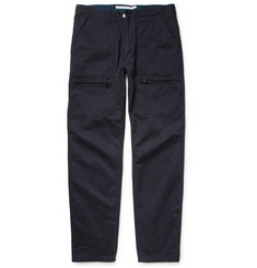 White Mountaineering Regular-Fit Cotton-Twill Cargo Trousers