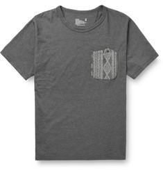 White Mountaineering Contrast Pocket Cotton-Jersey  T-Shirt