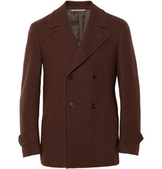 Canali Double-Breasted Wool Peacoat