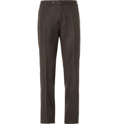 Canali Relaxed-Fit Wool Trousers