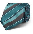Canali - Striped Silk Tie