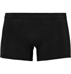 Sunspel Cotton-Jersey Boxer Briefs