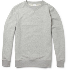 Sunspel - Loopback Cotton-Jersey Sweatshirt