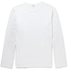 Sunspel Long-Sleeved Cotton T-Shirt