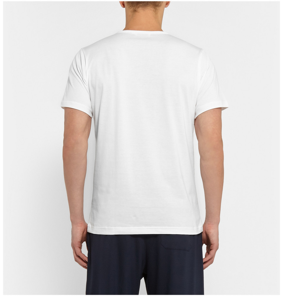Sunspel Crew-Neck Superfine Cotton Underwear T-Shirt