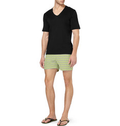 Sunspel V-Neck Cotton Underwear T-Shirt
