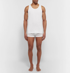 Sunspel Cotton Underwear Vest