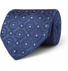 Charvet Patterned Woven-Silk Tie