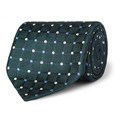 Charvet Spotted Woven-Silk Tie