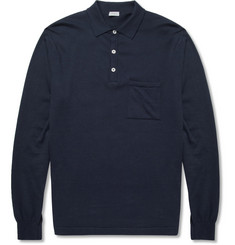 Zimmerli Cotton and Cashmere-Blend Pyjama Polo Shirt