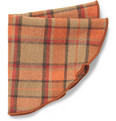Alexander Olch Justen Plaid Wool Pocket Round