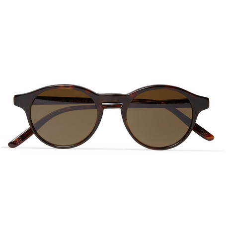 Bottega Veneta Round-Frame Polarised Sunglasses