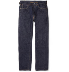 Levi's Vintage Clothing 1947 501 Rinsed Regular-Fit Selvedge Denim Jeans