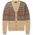 Todd Snyder Patterned Wool Cardigan