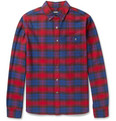 Todd Snyder - Plaid Cotton Oxford Shirt