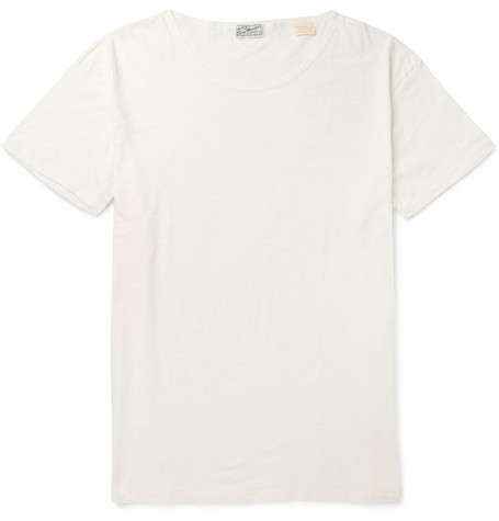Levi's Vintage Clothing Crew Neck Slub Cotton-Jersey T-Shirt