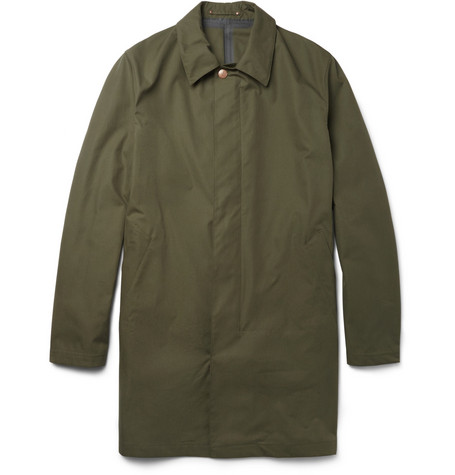 Private White V.C. Waterproof Cotton Rain Coat