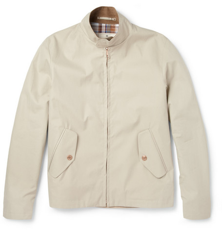 Private White V.C. Weather-Resistant Ventile Cotton Bomber Jacket