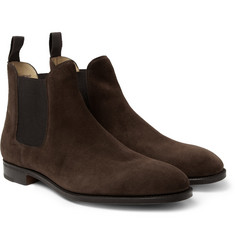 John Lobb Chesland Suede Chelsea Boots