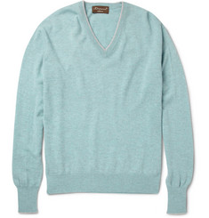 Doriani Cashmere V-Neck Sweater