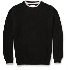 Sibling Slim-Fit Angora-Blend Sweater