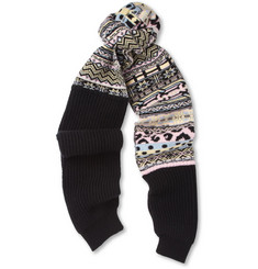 Sibling Fair Isle Lambswool Scarf