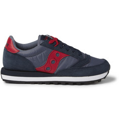 Saucony Jazz Orignal Suede and Mesh Sneakers